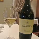 リストランテ カノフィーロ - シチリアのフィアーノ+シュナン・ブラン