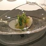 リストランテ カノフィーロ - 真ダコとグレープフルーツ、山ワサビ