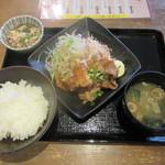 バードマン TRIO - あい盛り定食(¥850)