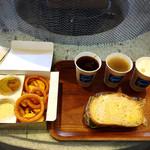 びわ湖テラス - 玉子と生ハムのサンドイッチ