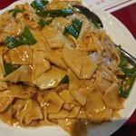 68034526 - 青唐辛子と干し豆腐炒め