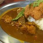 中華料理 八戒 - カレー牛ナン飯。所謂ビーフカレー