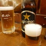 たつや - ホッピーと瓶ビール