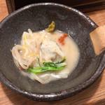 炊き餃子と麺 虎鉄 - 炊き餃子(白炊き)