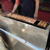 焼鳥エビス - 料理写真:店頭の焼台