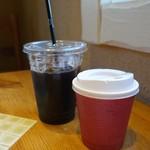ベルテコ - (2017/4月)アイスコーヒーとホットコーヒー