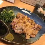 あづま - 地鶏のひねのタタキ