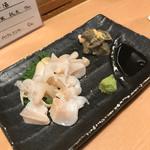 あづま - つぶ貝の造り