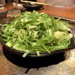 恋鯉 - 牡蠣のねぎポン酢かけ950円+税