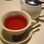 ムートン - ☆温かい紅茶はポットありでしたぁ(^v^)☆