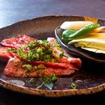 清香園 - セットの焼き肉
