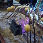 料亭 長坂 - 料理写真:子持ち鮎、じゃが芋、筍