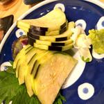 サケラボトーキョー - 水茄子の刺身