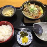 68041466 - なんこ鍋定食  950円