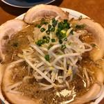 吉相 - 料理写真:チャーシュー麺 こってり