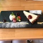 フタツボシ カフェ - 料理写真:レアチーズタルト