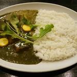 68049302 - 【チキンベース】ほうれん草と野菜カレー