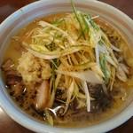 麺屋 おざわ - 生姜付みそらーめん(辛ねぎ)(1000円)