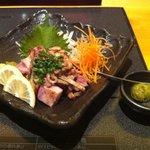 博多華味鳥 博多駅前店 - 親鶏タタキ