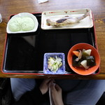 そば処こめや - 岩魚セット(1,600円)
