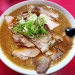 らーめんの土佐屋 - 背油チャーシュー麺大盛