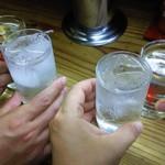 弥太郎うどん - 乾杯!