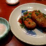 麻布茶房 - てり焼鶏つくね:450円