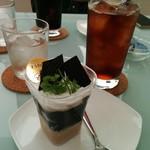 エスポワール - コーヒージュレとアイスティ