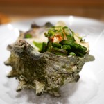 SUGALABO - 千倉さざえ(千葉)とささげインゲン豆(栃木)