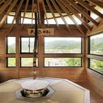 和束茶カフェ - 天空カフェは高台寺「傘亭を模した空間
