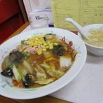 中華料理 八龍 - 五目焼きそば