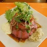 ローストビーフ丼 一ツ星 - 料理写真:ローストビーフ丼