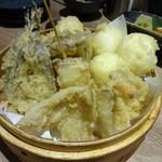 天ぷら海鮮友福 - 天ぷらたち