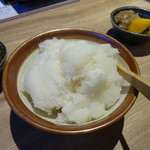 天ぷら海鮮友福 - 大根おろし