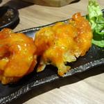 天ぷら海鮮友福 - 特製海老天チリソース