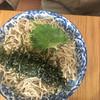 春別 - 料理写真:つぶこん蕎麦