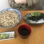 春別 - つぶこん蕎麦1200円
