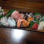 万咲 - 料理写真:刺身の盛り合わせ 3000円