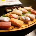 68071304 - すしと天ぷら定食