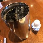 前川珈琲店 - アイスコーヒー(セット240円)