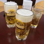 昇福門 - 昇福門(岡山県岡山市北区春日町)生ビール・ハイボール