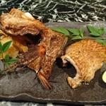 魚貝三昧 げん屋 - のどぐろの醤油焼き