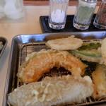 ころも - 料理写真:野菜天コース 750円