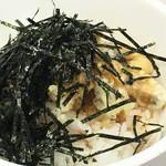 知夫の里 - サザエ天丼500円