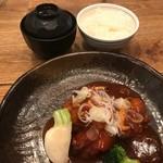 68079580 - 日替わり定食(酢豚)