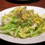 蓮香 - 咸牛奶巻心菜(広東省佛山市塩牛乳キャベツ炒め)