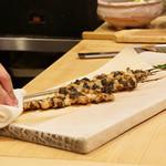松弥 - とり貝の炭火焼