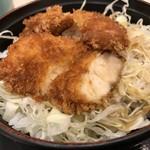 松乃家 - ミニソースかつ丼セット