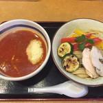 68083297 - 6月の限定                       《濃厚トマトつけ麺》880円                       2017/6/4
