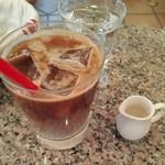 ガレットリア - アイスオーガニック豆乳カフェオレ648円